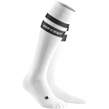 CEP Run 3.0 - 80's Compression Socks Damen | White Black