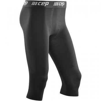 CEP Ski Compression 3/4 Tight Herren | Black