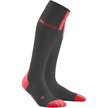CEP Run 3.0 Compression Socks Damen | Black Red