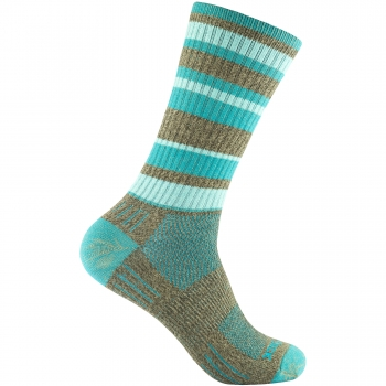 Wrightsock Adventure Crew | Brown Teal | Dick