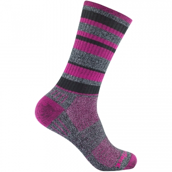 Wrightsock Adventure Crew | Black Fuchsia | Dick