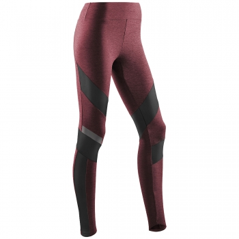 CEP Training Tight Damen | Cardio Cherry Melange