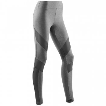 CEP Training Tight Damen | Grey Melange