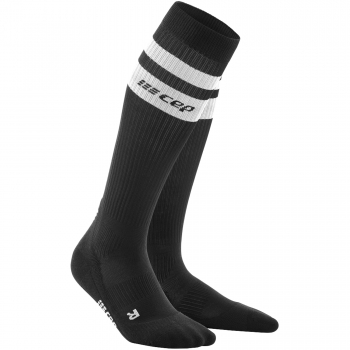 CEP Run 3.0 - 80's Compression Socks Damen | Black White