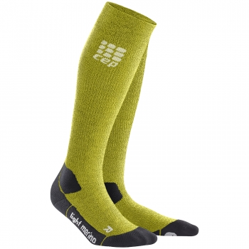 CEP Outdoor Light Merino Compression Socks Herren | Fresh Grass