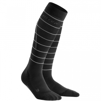 CEP Reflective Compression Socks Herren | Black