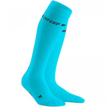 CEP Run 3.0 Neon Compression Socks Damen | Neon Blue