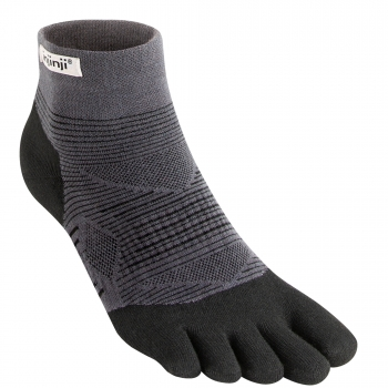 Injinji Run Lightweight Mini Crew | Black | Dünn
