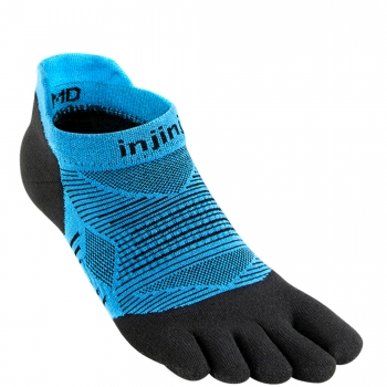 Injinji Run Lightweight No Show | Malibu-Blue | Dünn
