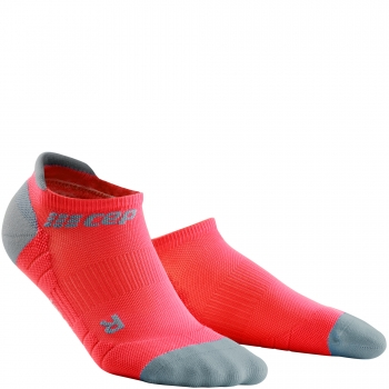 CEP Run 3.0 No Show Compression Socks Herren | Lava Grey