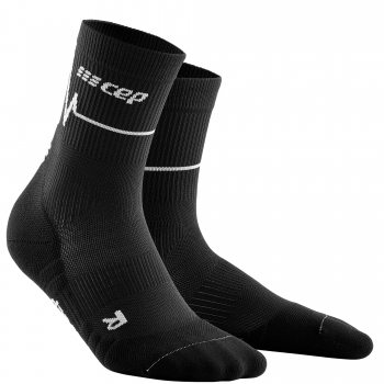 CEP Run 3.0 Mid Cut Socks Herren | Heartbeat Dark Clouds