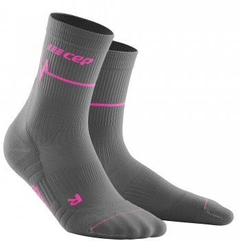 CEP Run 3.0 Mid Cut Socks Damen | Heartbeat Vulcan Flame