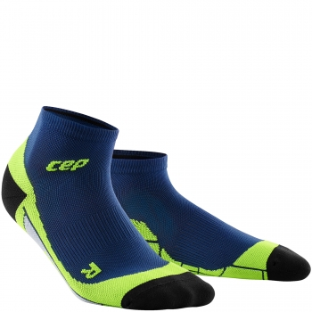 CEP Run 2.0 Low Cut Compression Socks Herren | Deep Ocean Green