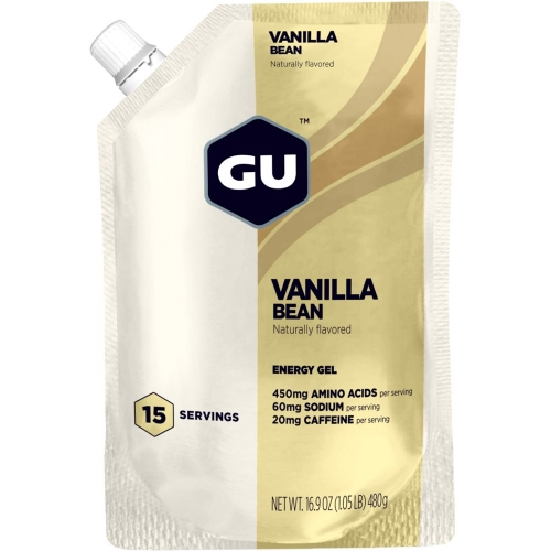 GU Energy Gel Kohlenhydrate-Gel Vanilla Bean with Caffeine