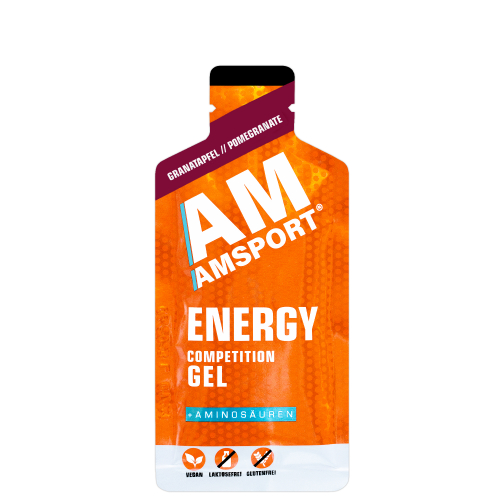 AM Sport Energy Competition Gel Pomegranate