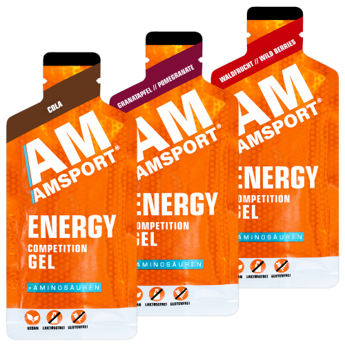 AM Sport Energy Competition Gel Testpaket